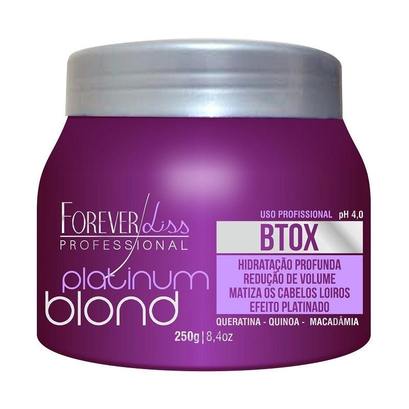 cc19cdcaf Btox Matizador Platinum Blond Forever Liss 250gr