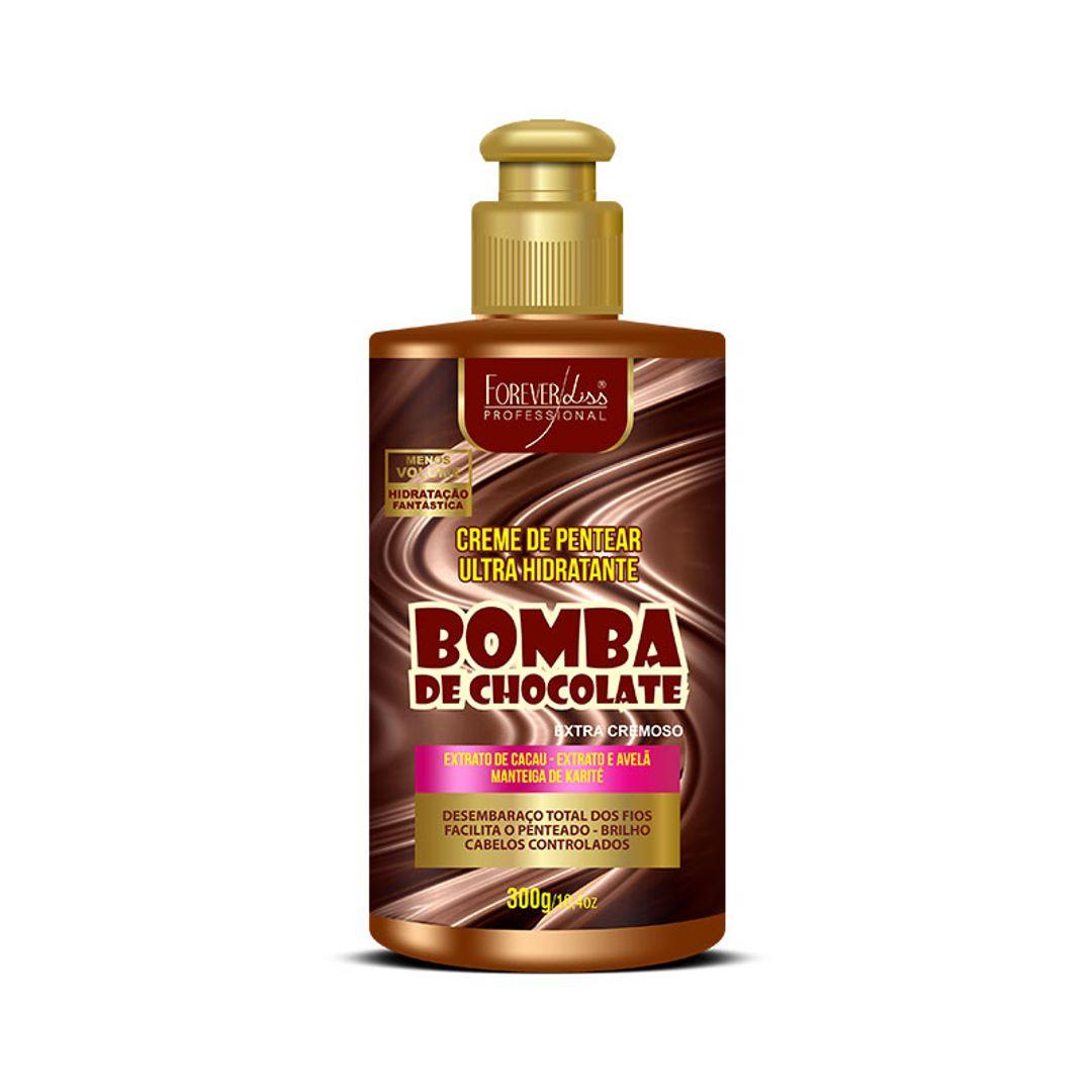 creme-de-pentear-bomba-de-chocolate-forever-liss-300g
