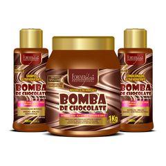 kit-bomba-de-chocolate-com-shampoo-condicionador-e-mascara-forever-liss-1kg