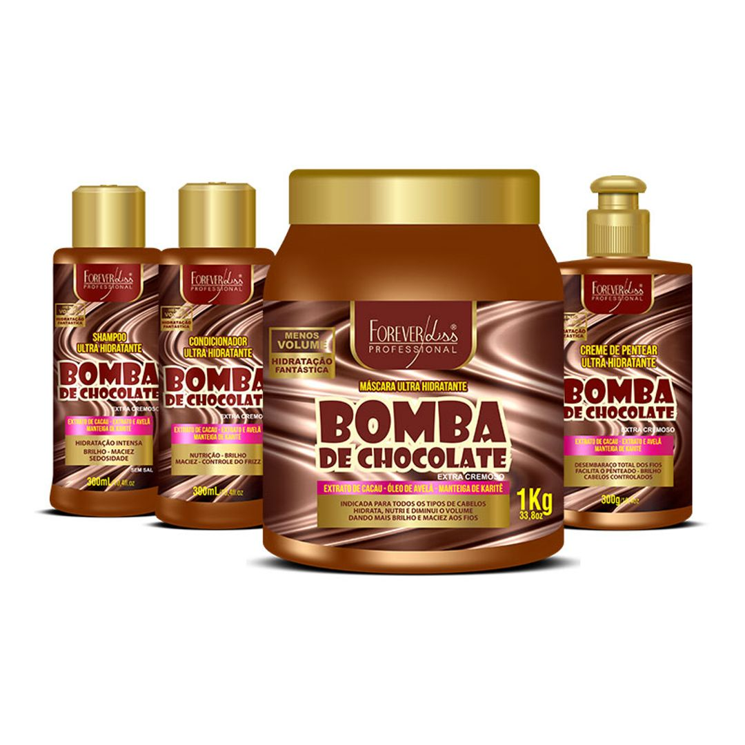 kit-bomba-de-chocolate-profissional-forever-liss