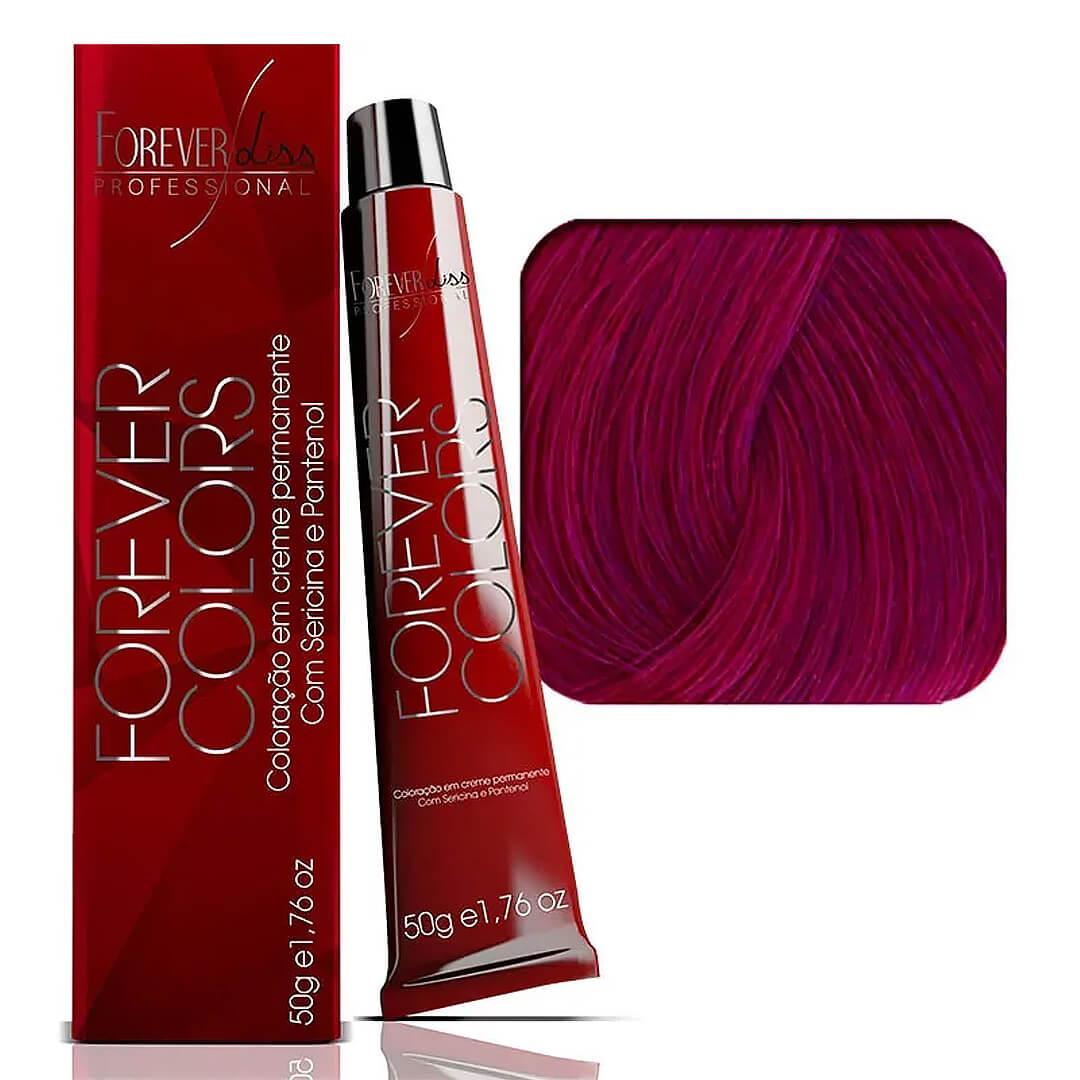 coloracao-forever-colors-vermelho-especial-52-62-castanho-violeta-marsala