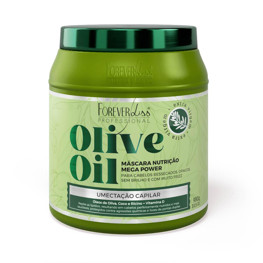 Mascara-de-Umectacao-Capilar-OLIVE-OIL-950g-Forever-Liss